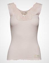 Odd Molly Rib-Eye Tank T-shirts & Tops Sleeveless Rosa ODD MOLLY