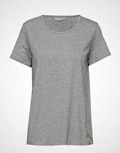 Fransa Zaganic 2 T-Shirt T-shirts & Tops Short-sleeved Grå FRANSA