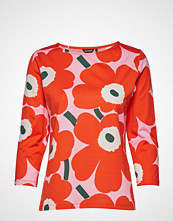Marimekko Ilma 2017 Pieni Unikko Blouse T-shirts & Tops Long-sleeved Multi/mønstret MARIMEKKO