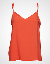 B.Young Byhailey Top - Bluse Ermeløs Oransje B.YOUNG