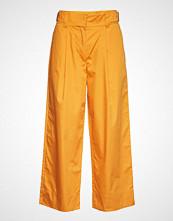 Rodebjer Tanderfit Cotton Vide Bukser Oransje RODEBJER