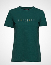 Soft Rebels Lovesick T-Shirt T-shirts & Tops Short-sleeved Grønn SOFT REBELS