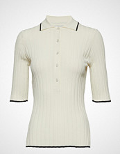 Dagmar Ella T-shirts & Tops Short-sleeved Creme DAGMAR