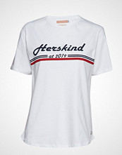 Birgitte Herskind Michelle T-Shirt T-shirts & Tops Short-sleeved Hvit BIRGITTE HERSKIND