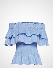 By Malina Idalia Top T-shirts & Tops Short-sleeved Blå BY MALINA