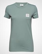 Wood Wood Eden T-Shirt T-shirts & Tops Short-sleeved Grønn WOOD WOOD