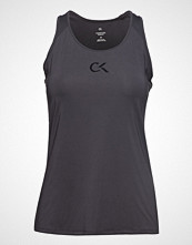 Calvin Klein Performance Logo Tank T-shirts & Tops Sleeveless Grå CALVIN KLEIN PERFORMANCE