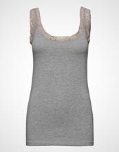 Fransa Zaganic 4 Top T-shirts & Tops Sleeveless Grå FRANSA