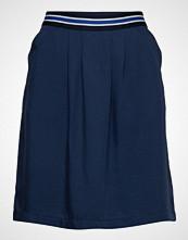 Marc O'Polo Skirt, Elastic In Back Body Kort Skjørt Blå MARC O'POLO