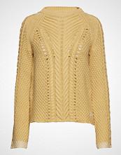 Odd Molly Glory Days Knit Sweater Strikket Genser Gul ODD MOLLY