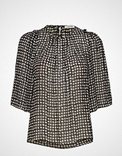 nué notes Stormi Blouse Bluse Kortermet Svart NUÉ NOTES