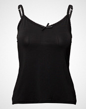 Cream Lise Singlet T-shirts & Tops Sleeveless Svart CREAM