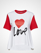 Hilfiger Collection Th Capsule Tshirt Ss T-shirts & Tops Short-sleeved Hvit HILFIGER COLLECTION