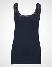 Fransa Zaganic 4 Top T-shirts & Tops Sleeveless Blå FRANSA