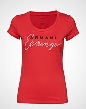 Armani Exchange Woman Jersey T-Shirt T-shirts & Tops Short-sleeved Rød ARMANI EXCHANGE