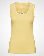 Cream Vanessa Top T-shirts & Tops Sleeveless Gul CREAM
