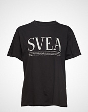 Svea Oxford Tee T-shirts & Tops Short-sleeved Svart SVEA