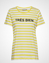 Fransa Frcioui 1 T-Shirt T-shirts & Tops Short-sleeved Gul FRANSA
