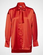 MSGM Camicia Shirt Bluse Langermet Rød MSGM