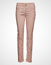 Mos Mosh Naomi Embroidery Soft Pant Skinny Jeans Rosa MOS MOSH