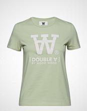 Wood Wood Uma T-Shirt T-shirts & Tops Short-sleeved Grønn WOOD WOOD