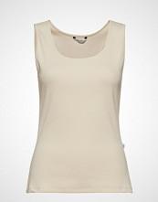 Holzweiler Frei Top T-shirts & Tops Sleeveless Creme HOLZWEILER