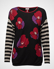 Gerry Weber Pullover Long-Sleeve T-shirts & Tops Long-sleeved Svart GERRY WEBER