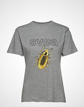 Svea Insect Tee T-shirts & Tops Short-sleeved Beige SVEA