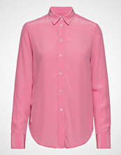 Filippa K Classic Silk Shirt Langermet Skjorte Rosa FILIPPA K