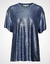 Iro Natesa T-shirts & Tops Short-sleeved Blå IRO