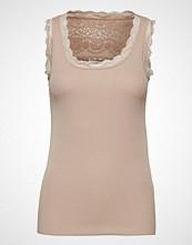 Cream Vanessa Top T-shirts & Tops Sleeveless Beige CREAM