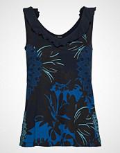 Desigual Ts Zoe T-shirts & Tops Sleeveless Blå DESIGUAL