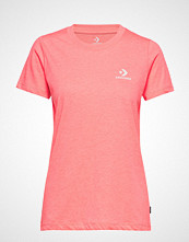 Converse Converse Star Chevron Small Chest Logo Tee T-shirts & Tops Short-sleeved Rosa CONVERSE