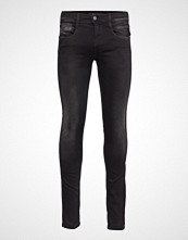 Replay Anbass Hyperflex Slim Jeans Svart REPLAY