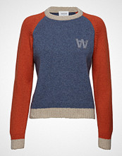 Wood Wood Asta Sweater Strikket Genser Blå WOOD WOOD