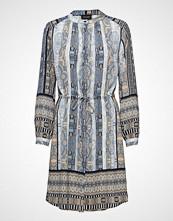 Sand 3628 New - Zihia Dress 2 Kort Kjole Blå SAND