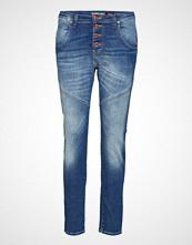 Please Jeans Retro Classic Denim Slim Jeans Blå PLEASE JEANS