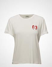 Valerie Team Top T-shirts & Tops Short-sleeved Hvit VALERIE