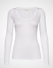 Gai+Lisva Lotus T-shirts & Tops Long-sleeved Hvit GAI+LISVA