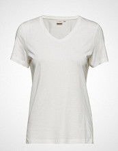Cream Naia T-Shirt T-shirts & Tops Short-sleeved Hvit Cream