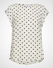 Saint Tropez Woven Top S/S T-shirts & Tops Short-sleeved Hvit SAINT TROPEZ