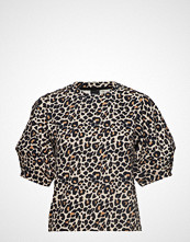 Gina Tricot Mikaela Top T-shirts & Tops Short-sleeved Svart GINA TRICOT