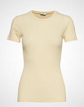 Envii Envelda Ss Tee 5928 T-shirts & Tops Short-sleeved Gul ENVII