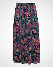 POSTYR Posana Long Skirt Langt Skjørt Multi/mønstret POSTYR