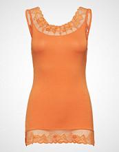 Cream Florence Top T-shirts & Tops Sleeveless Oransje CREAM