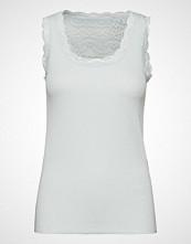 Cream Vanessa Top T-shirts & Tops Sleeveless Hvit CREAM