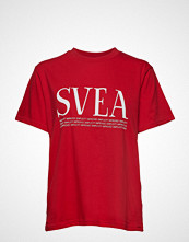 Svea Oxford Tee T-shirts & Tops Short-sleeved Rød SVEA