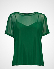 Bruuns Bazaar Thora Joy Tee T-shirts & Tops Short-sleeved Grønn BRUUNS BAZAAR