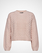 Gina Tricot Elisa Knitted Sweater Strikket Genser Rosa GINA TRICOT