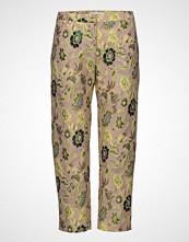 Samsøe & Samsøe Louise Crop Pants 9901 Bukser Med Rette Ben Grønn SAMSØE & SAMSØE